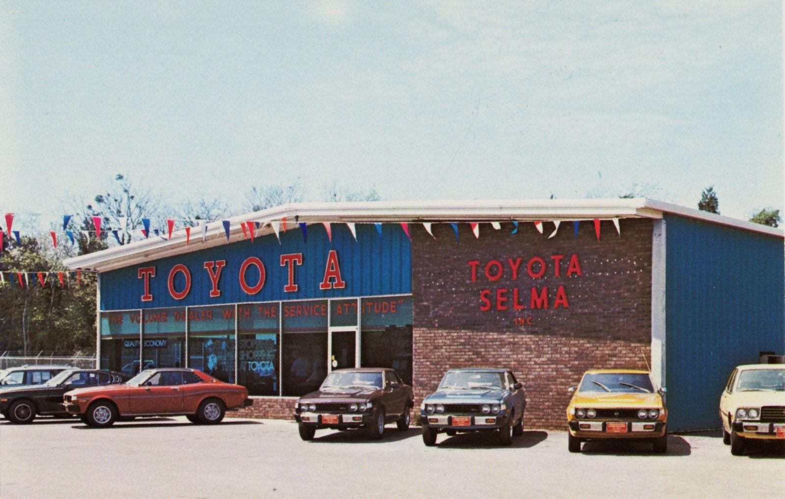 1970's Toyota Selma Dealership, Selma, Alabama Car