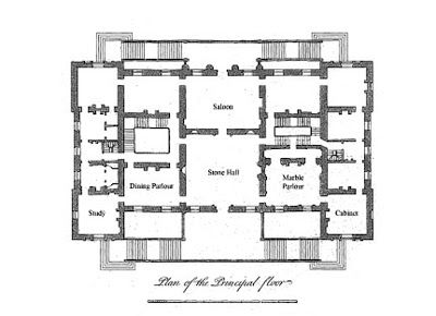 Houghton Hall Houghton Hall Mansion Floor Plan Vintage House Plans