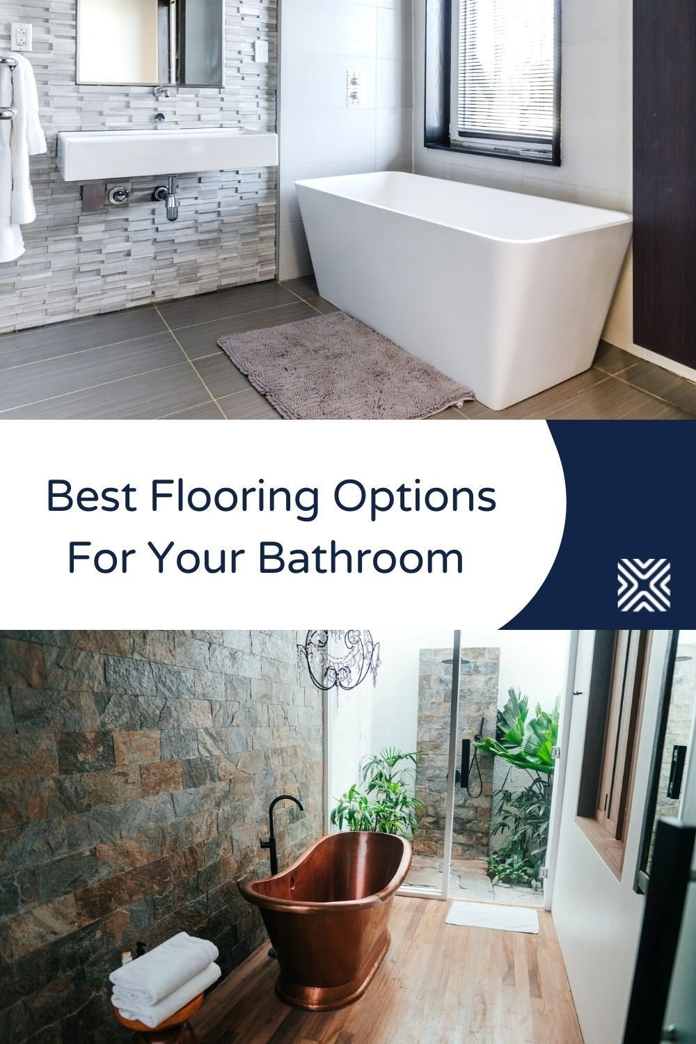 Know The 9 Best Bathroom Flooring Options For Your Home Bathroom Flooring Options Best Bathroom Flooring Bathroom Renovation Cost