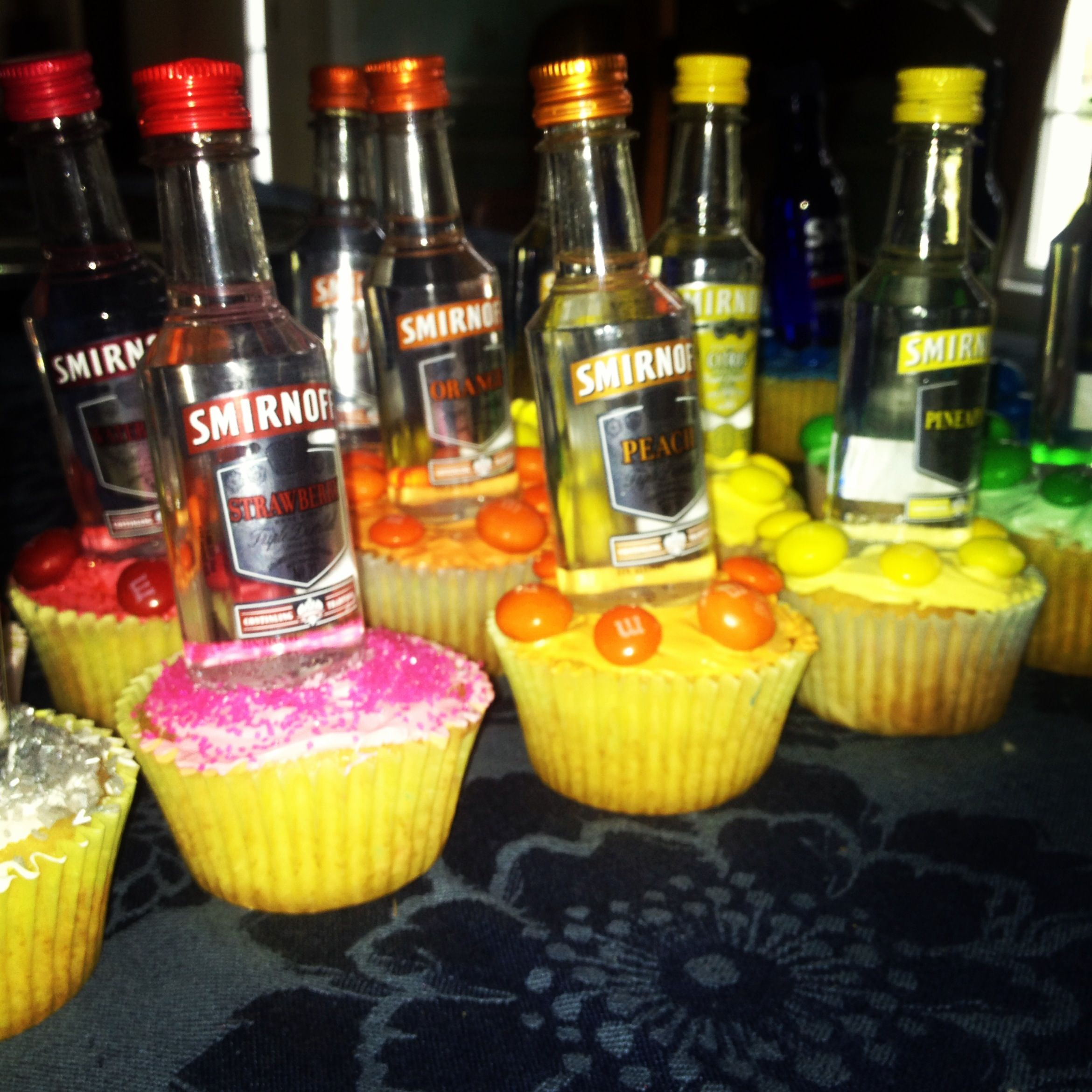 21st Birthday Cupcake Shots Gift Ideas Pinterest