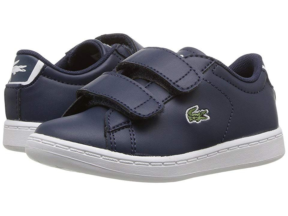 c3676d43 Lacoste Kids Carnaby Evo HL (Toddler/Little Kid) Kids Shoes Navy ...