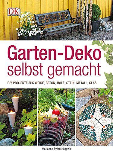 garten-deko selbst gemacht: diy-projekte aus weide, beton, holz, Gartenarbeit ideen