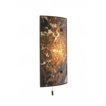 Marble Effect Wall Light For Traditional Properties Pull Cord Switch Wall Lights Lighting Lights