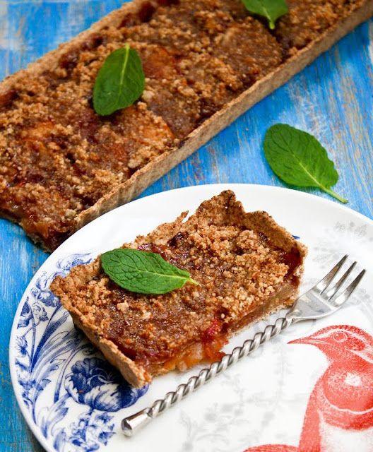 Sprinkle Bakes: Red Plum Tart