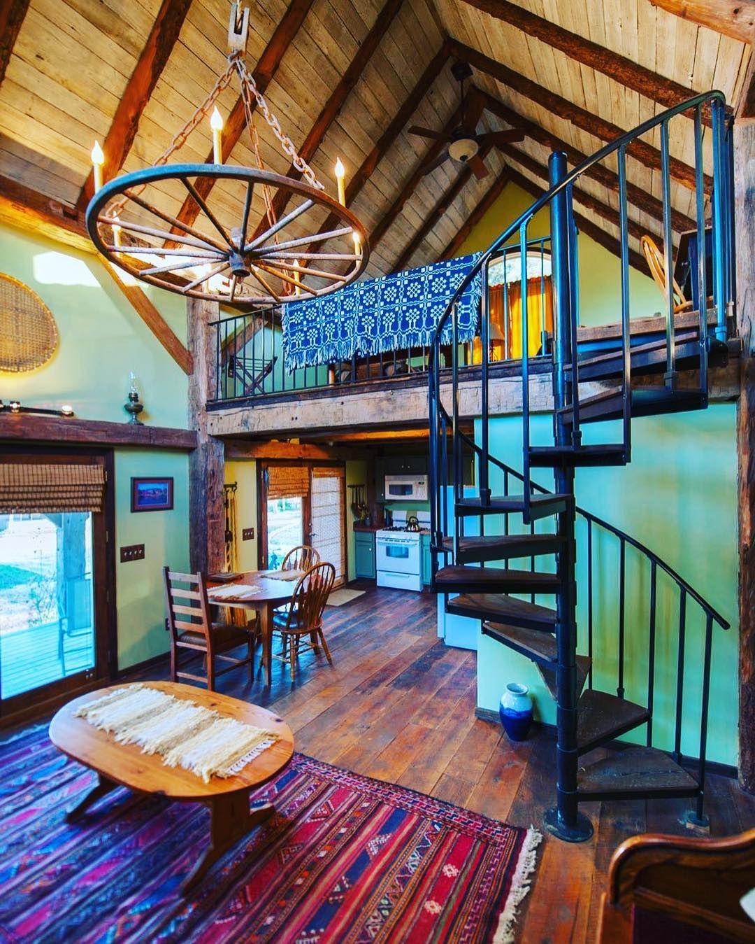 This is a renovated 336 sq ft Tiny Barn Cabin in Waco Texa