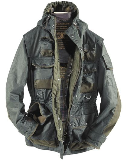 8e19f627f491 BARBOUR X TOKIHITO YOSHIDA, MILITARY JACKET AW10  extreme pockets ...