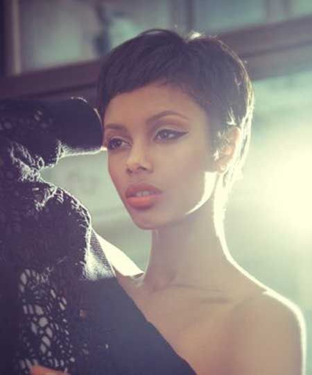 Phenomenal 1000 Images About Short Hair Inspiration On Pinterest Black Short Hairstyles For Black Women Fulllsitofus
