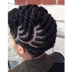 Flat Twist Hairstyles Simple Need A Cute Protective Style  18 Flat Twist Updo Styles You Should