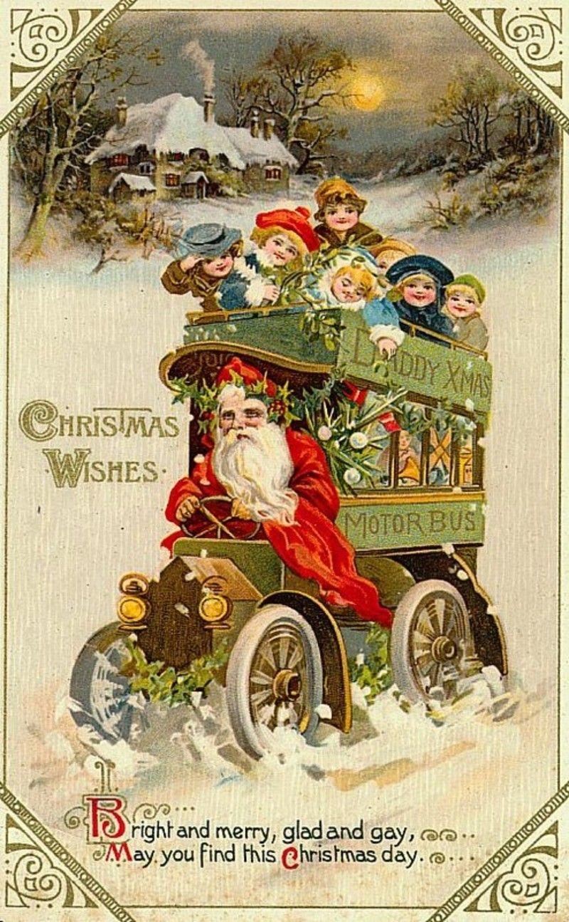 Christmas wishes holidays pinterest cartes anciennes no l et bonne ann e - Cartes de noel anciennes ...