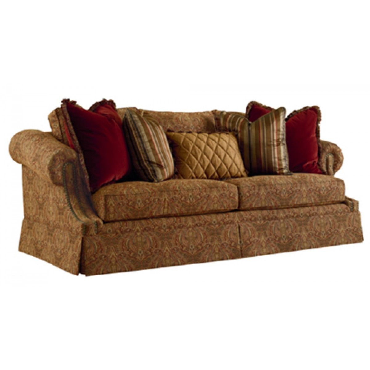 henredon upholstery tuscan sofa with images  henredon