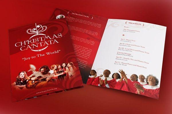 Christmas Cantata Program Template   Graphics Print Templates ...