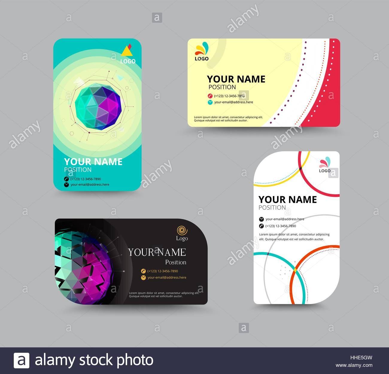 Beispiel Für Ein Business Card Design Mit Sample Business