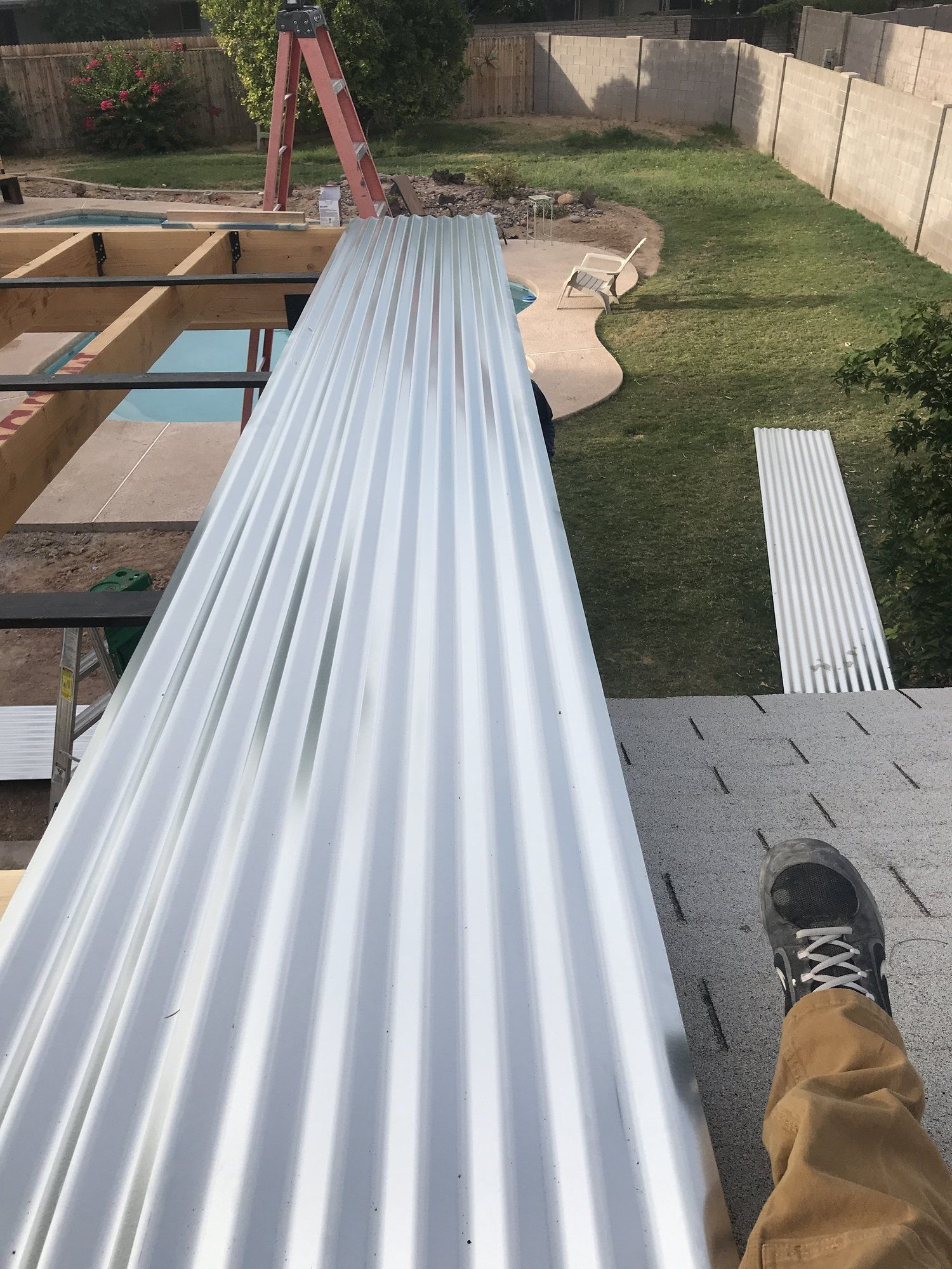 Best Building A Covered Patio With A 30Ft Span Metal Patio 400 x 300