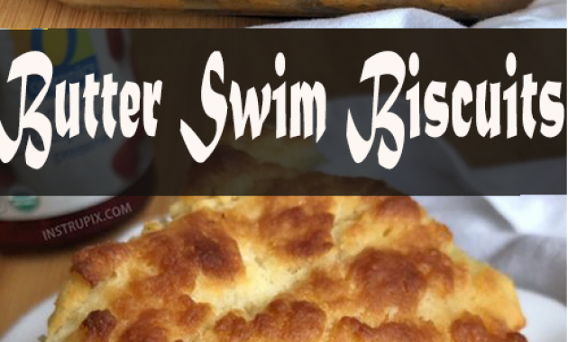 Butter Swim Biscuits (quick and easy!) - Lets Cook With Foodcooking #butterswimbiscuits