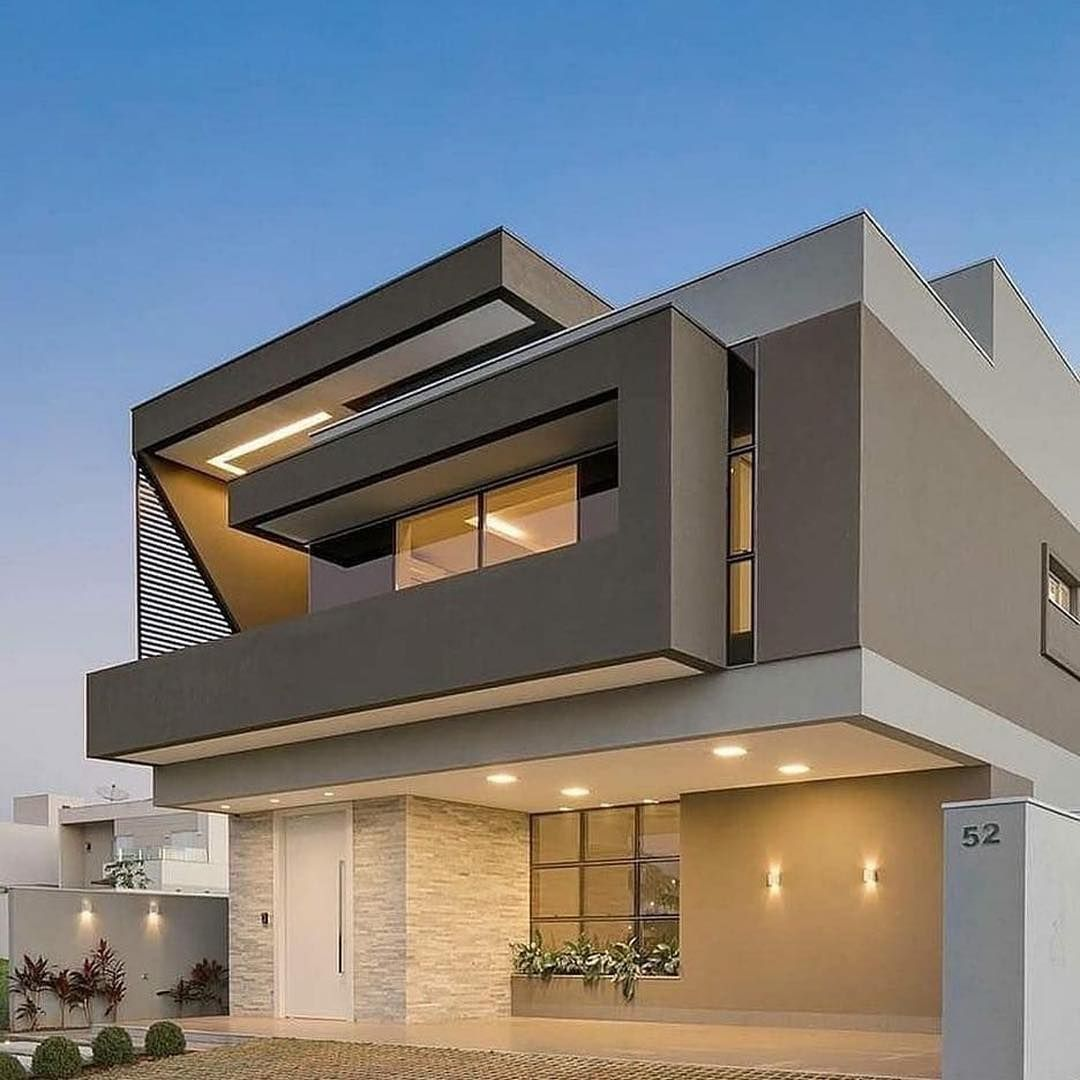 21 The Most Unique Modern Home Design In The World New Modern Exterior House Designs Small House Elevation Design House Architecture Design