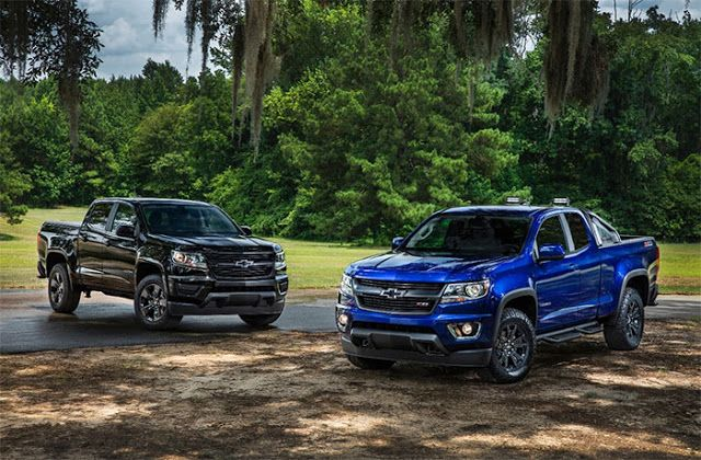 Chevy Colorado Trail Boss And Midnight Editions Get Official Chevy Colorado Chevrolet Colorado Chevrolet Colorado Z71