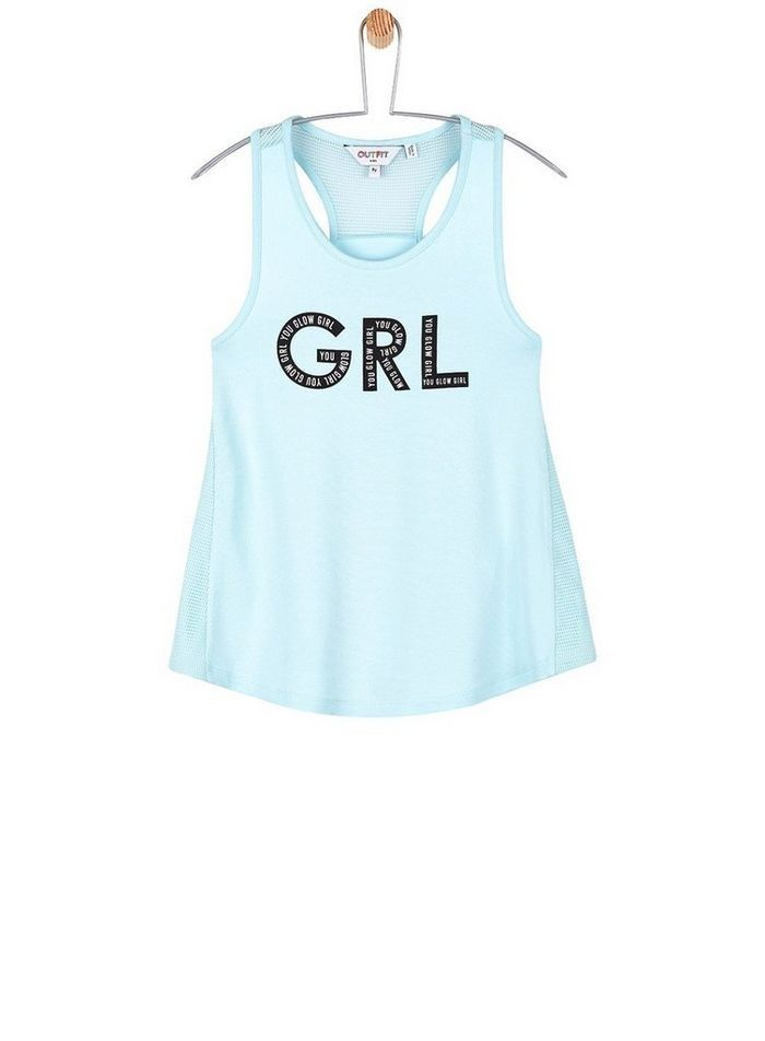 b1d0c9fa877cc River Island Girls pink racer back crop top multipack