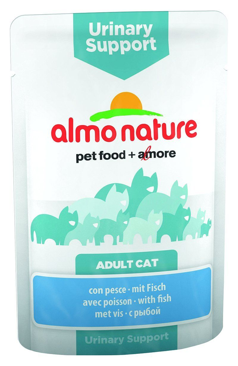 Almo Nature Cat Functional Pouch Urinary Support With Fish 30 X 70 G Functional Pouch Food Animals Almo