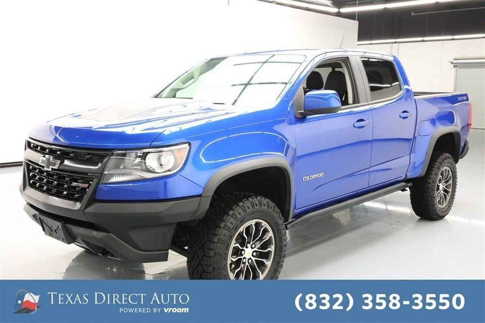 For Sale 2018 Chevrolet Colorado 4WD ZR2 Texas Direct