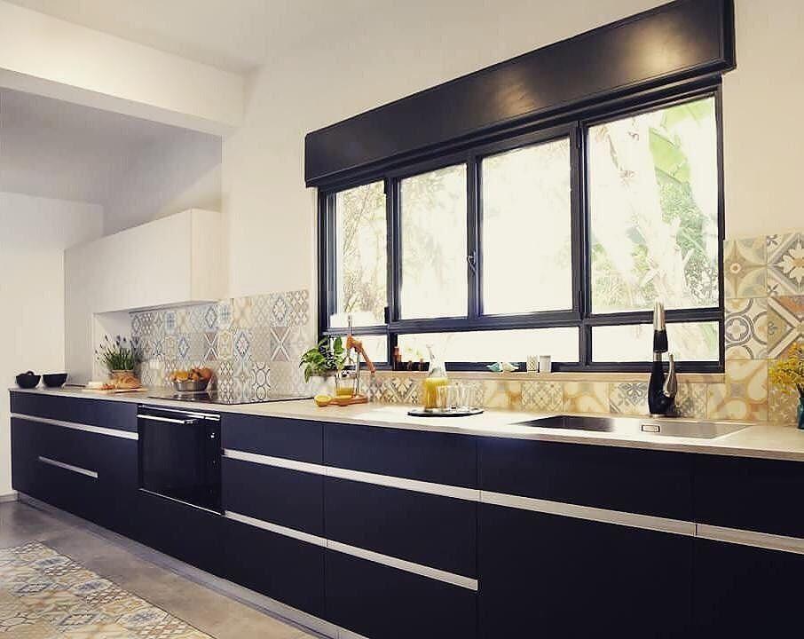A new kitchen by @net_g_designstudio for a design loving ...