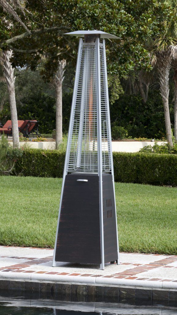 This Stylish Bronze Propane Patio Heater Provides A Uniquely Visual Flame  While Providing Heat In Every Direction, And Will Be The Focal Point Of Any  ...