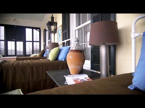 How to paint lampshades at home with p allen smith youtube