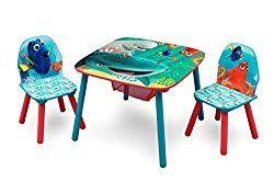 Excellent Delta Children Table And Chair Set With Storage Disney Frankydiablos Diy Chair Ideas Frankydiabloscom