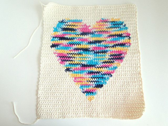 Intarsia crochet heart just one more row pinterest crochet i found this pattern on ravelry called watercolor heart pillow i wanted to make myself one but decid ccuart Images