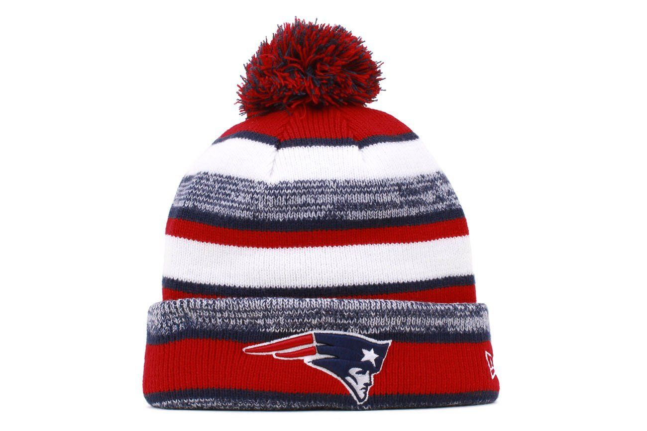 47e2a3165 AmazonSmile : New Era On field Sport Knit New England Patriots Game Hat Red/ White/Blue Size One Size : Sports & Outdoors EDIT: Own it!