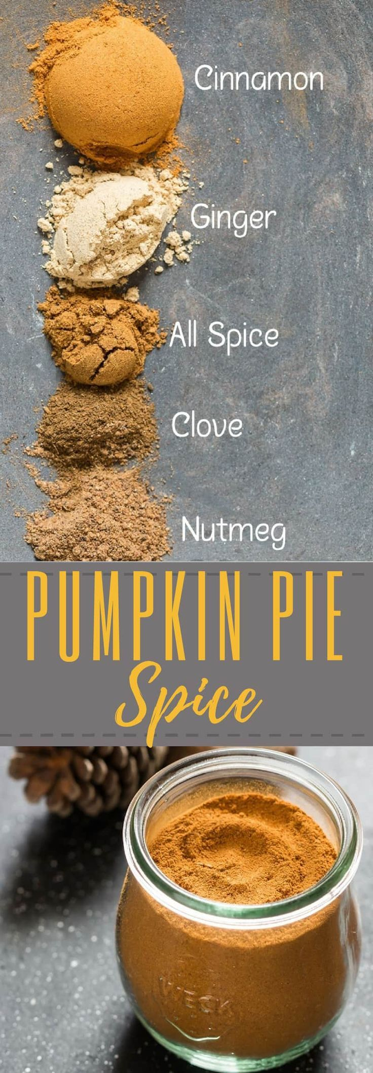 Homemade Pumpkin Pie Spice Recipe - CurryTrail