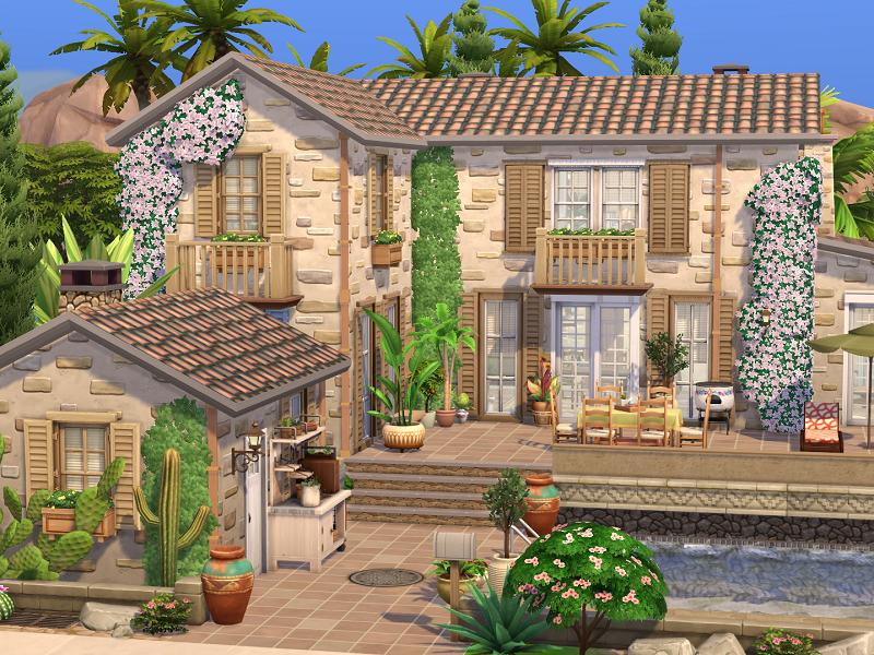 Flubs79's The Sims 4 // Rustic Finca // no CC