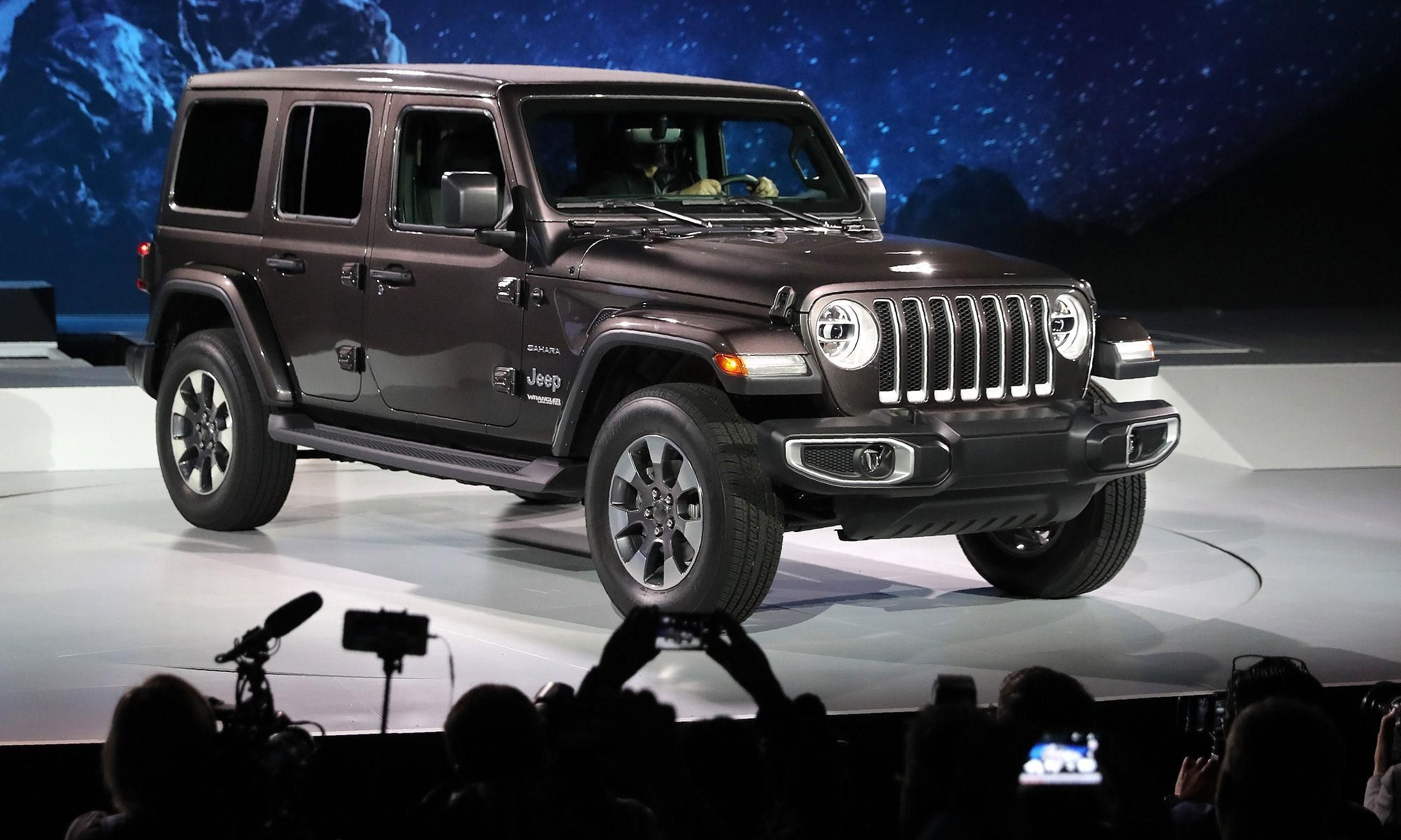 Under 2018 Jeep Wrangler S Familiar Sheet Metal A Modern Day Throughout Redesign