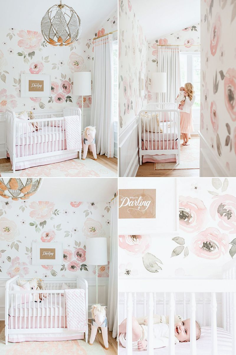 Jolie Mural Praise in 2020 Baby room decor, Baby room