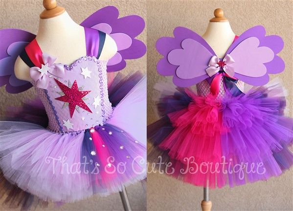 Twilight Sparkle Tutu Dress My Little Pony Twilight Sparkle Fancy Dress Costume