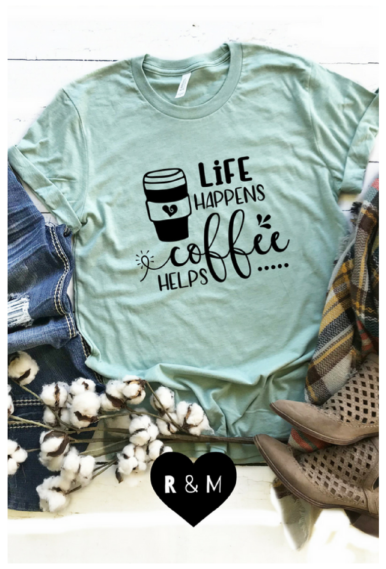 Funny Womens Shirts Custom Design Coffee Lover Humor Jokes Coffeeloverhumorjokes High Quality Unique Funny Shirts Women Funny Coffee Shirts Custom Shirts