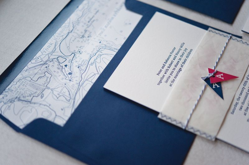 Anneke austins nautical inspired wedding invitations anneke austins nautical inspired wedding invitations stopboris Images