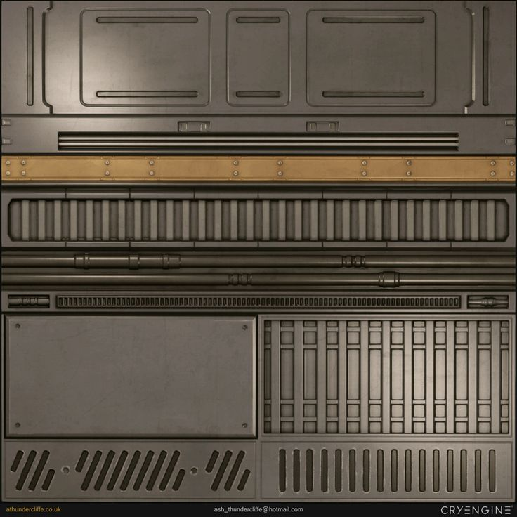 Sci-Fi-Corridor Texture