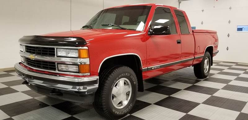 This 1996 Chevrolet C K 1500 Series K1500 Silverado Is