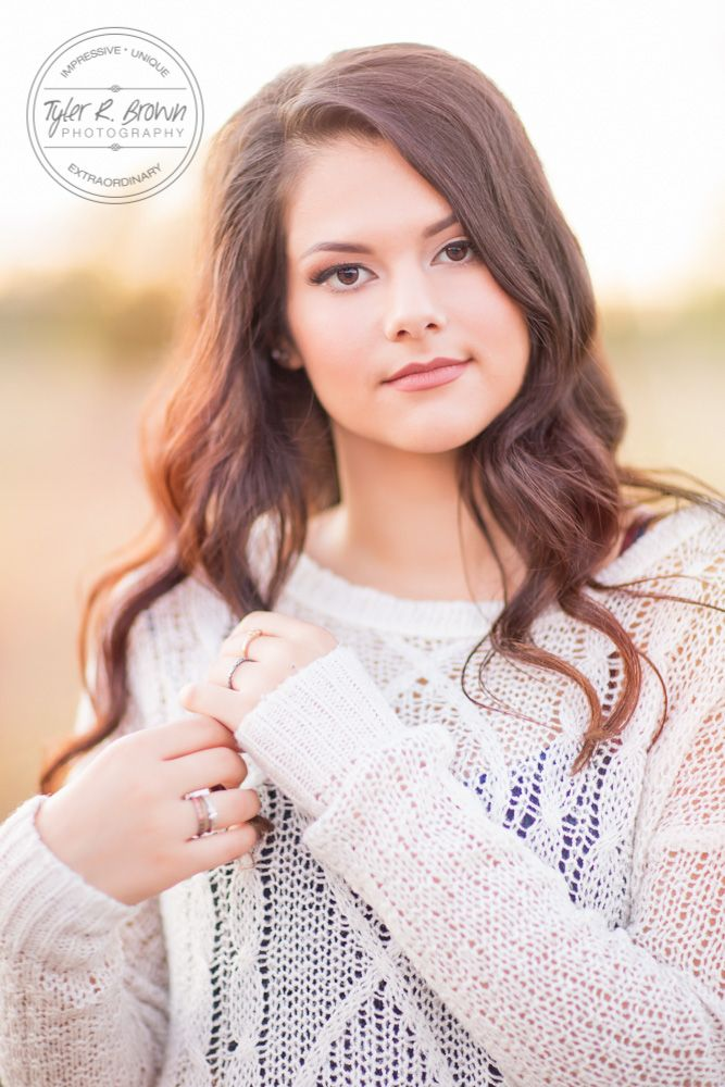Can You Be As Stunning As This Senior Girl poses, Senior