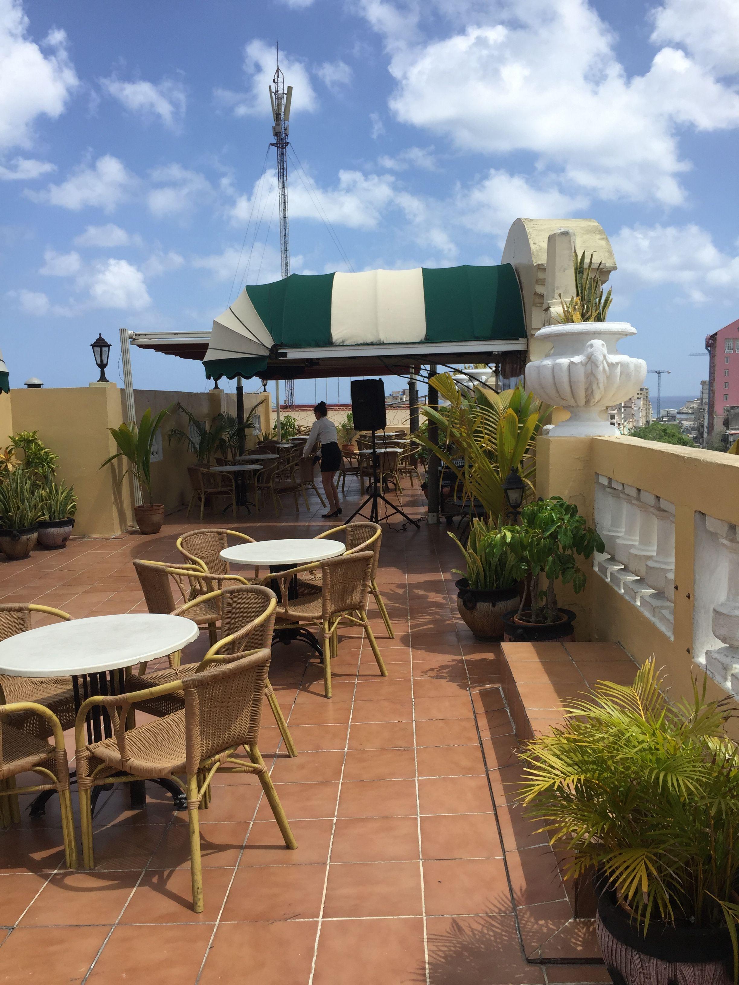 Terraza Del Hotel Inglaterra Lugares La Habana Terrazas
