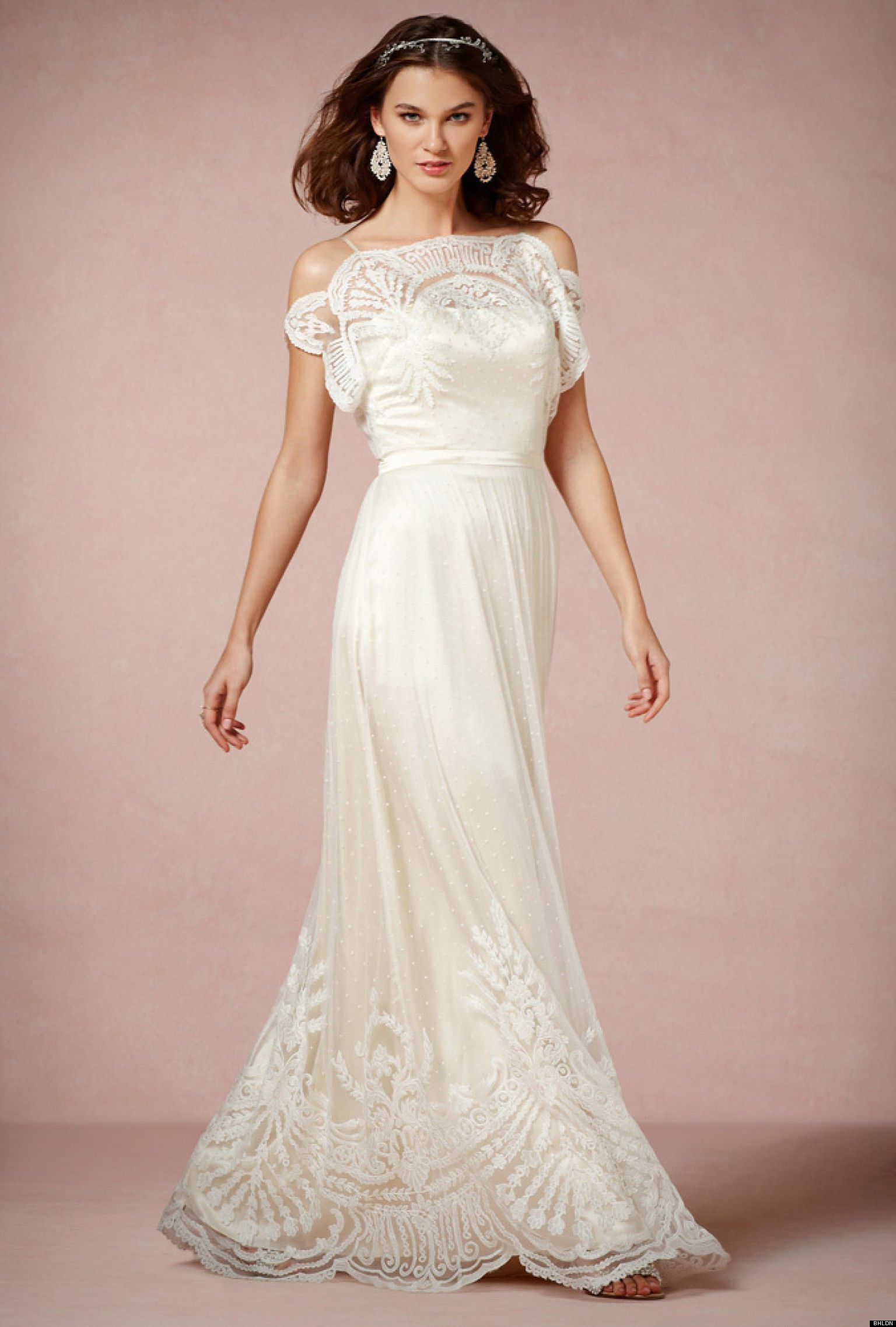Plus Size Wedding Dresses For Women Over 50 Size12