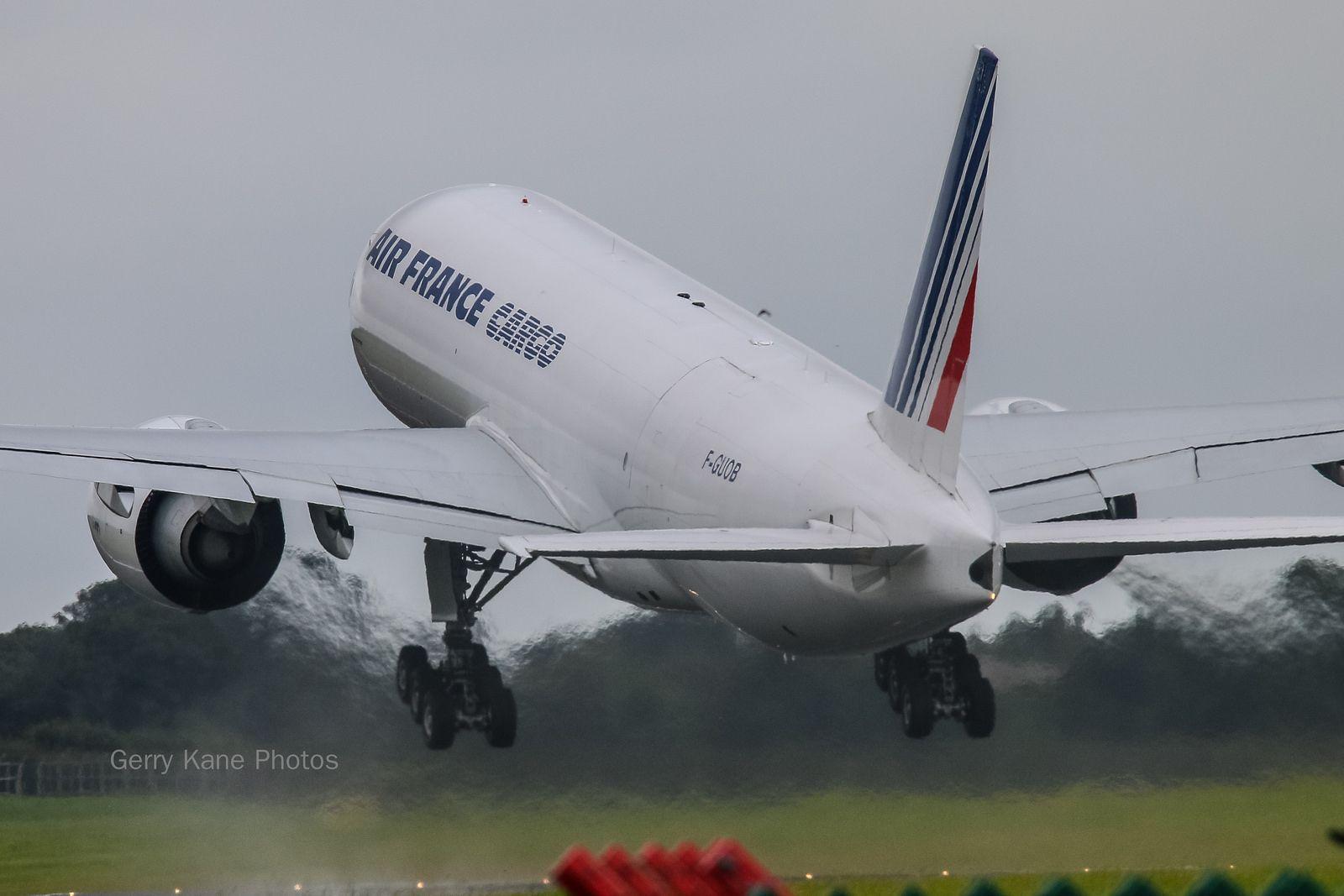Air France Cargo Boeing 777200 FGUOB EIDW 300814 Air