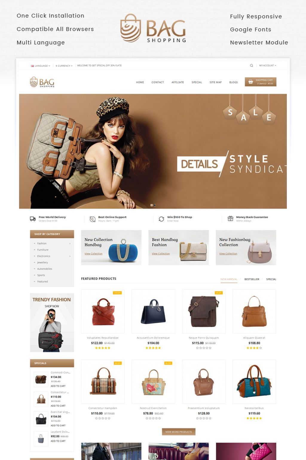 aa8460d5cdda  Fashion  Onlinestore  onlineshop. Find this Pin and more on New Website  Templates by Template ...