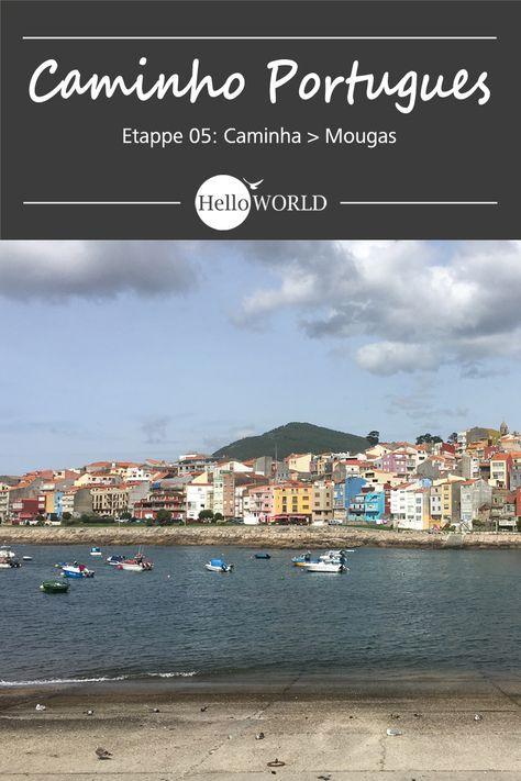 Etappe 5 . Caminha > Mougas: Jakobsweg / Caminho Portugues / Camino Portugues; Porto (Portugal) > Santiago de Compostela (Spanien)