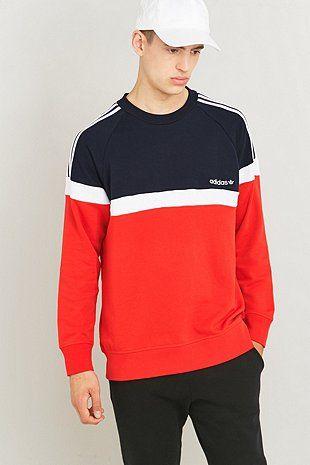 adidas originals itasca sweatshirt red