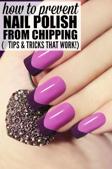 How To Keep Nail Polish From Peeling Chipping Tips Tricks Nail Polish Nail Tips Nail Shapes