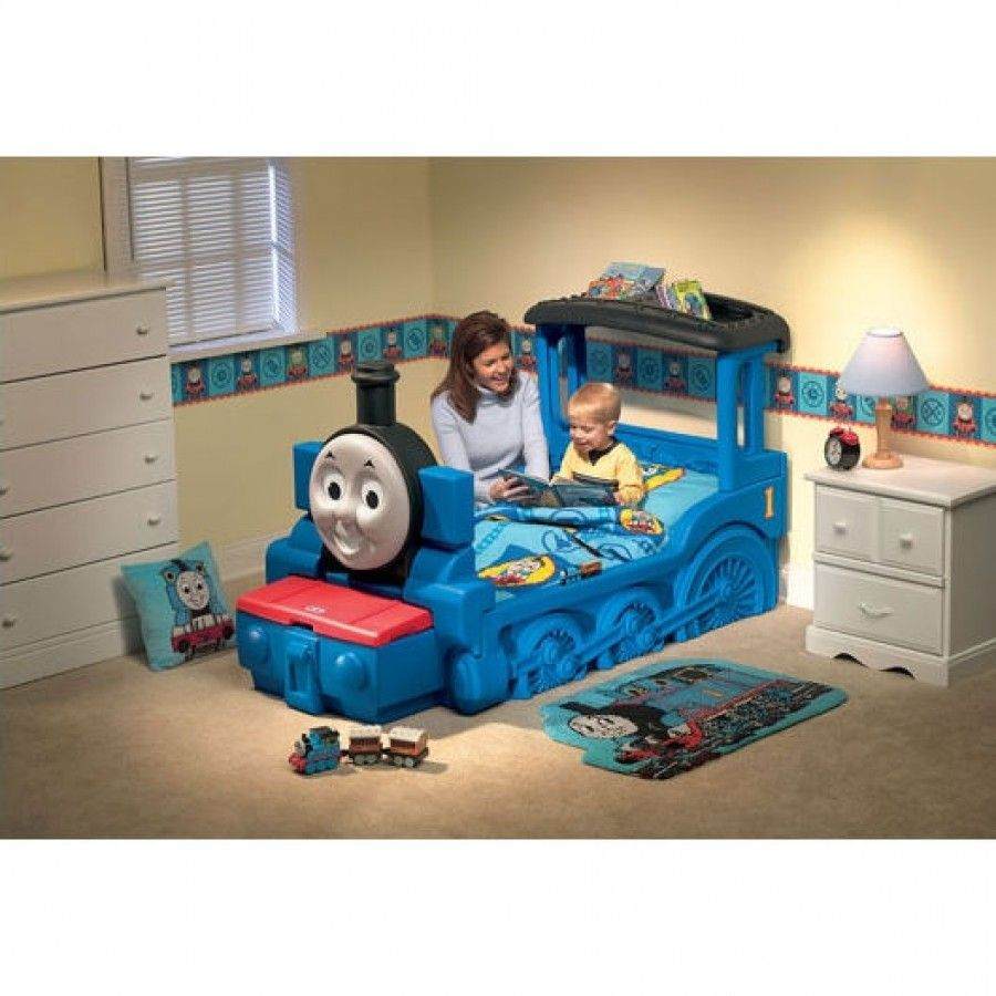 Little Tikes Thomas Friends Train Bed 7426 Toddler Bed Boy