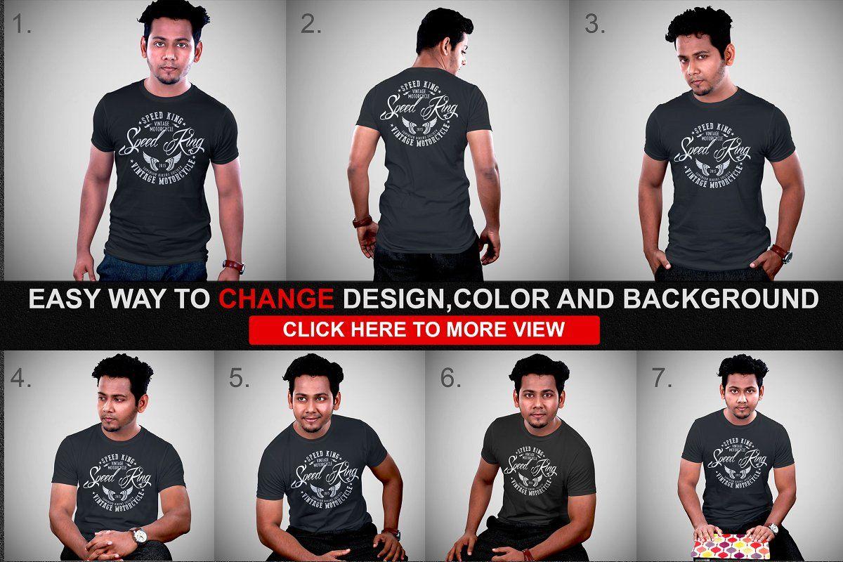 Download Mens Tshirt Mockup Vol 1 Bundle Tshirt Mockup Mens Tshirts Shirt Mockup