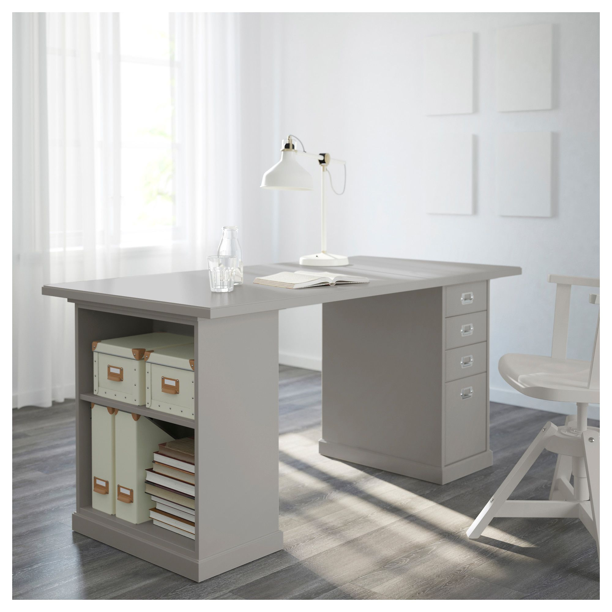 Ikea Klimpen Table Light Gray In 2019 Kids Rooms Desk With
