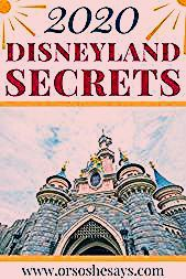 Photo of 26 Disneyland Secrets, Tips, and Tricks for 2020